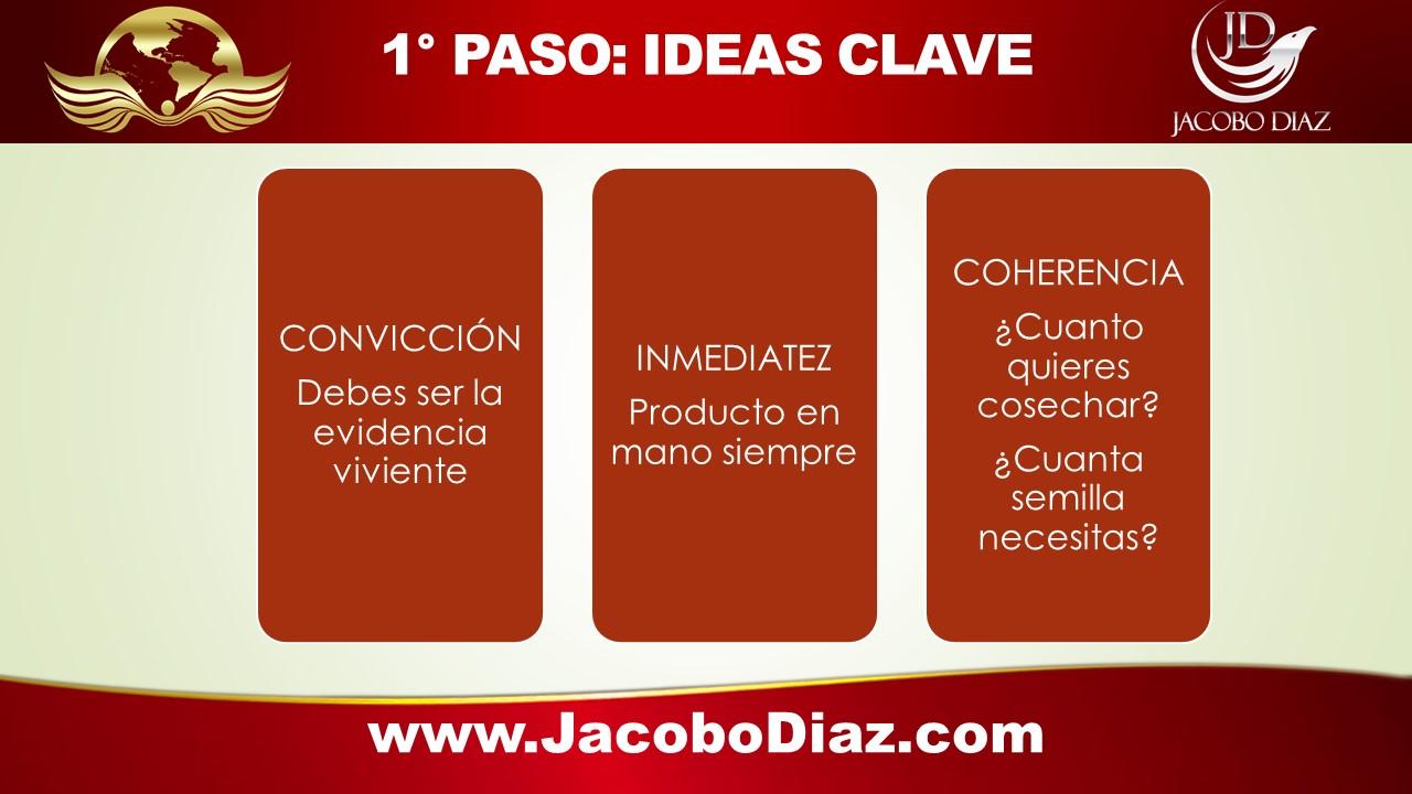 5 PASOS DEL EXITO DE ARMAND PUYOLT: Paso 1 Ideas CLave