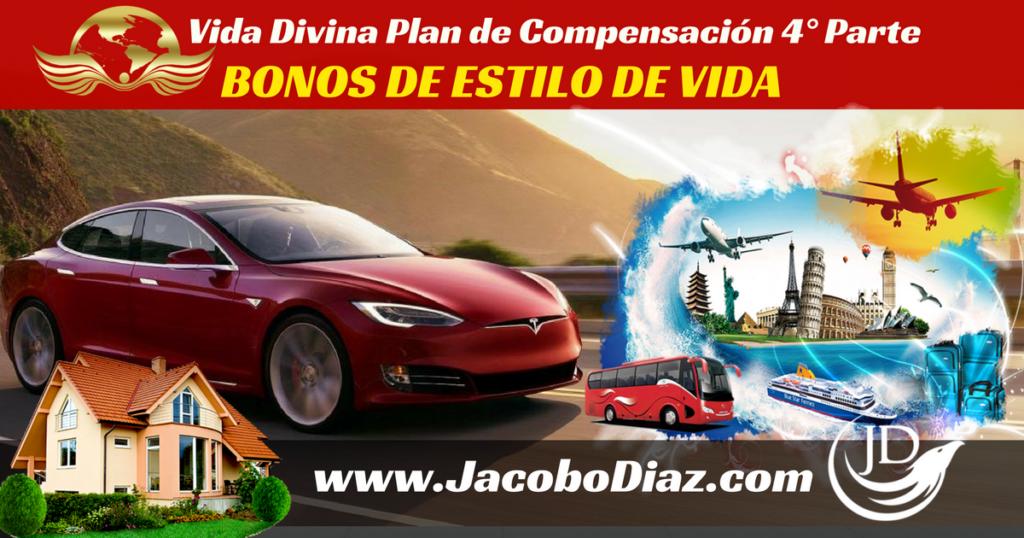 Plan de Compensacion Vida Divina 4ta parte, bonos inmediatos